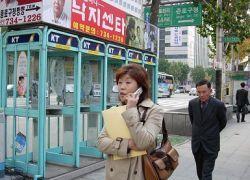 В Северную Корею вернулись мобильные телефоны