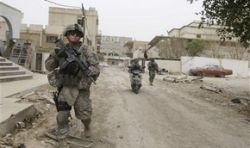 В Мосуле похищены 7 американских солдат