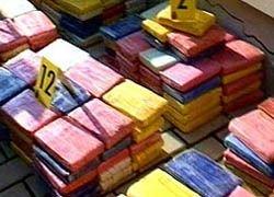 В Атлантическом океане захвачено судно с 5 тоннами кокаина