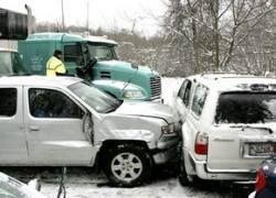 Снег парализовал северо-восток США