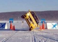Захватывающие трюки от Saab Performance Team