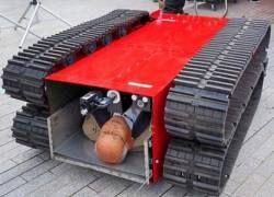 Японцы разработали робота-пожарного