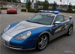 Полицейский Porsche 911 из Алабамы