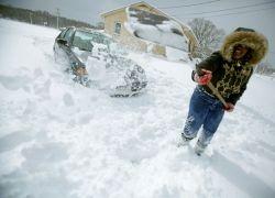 Мартовские снегопады