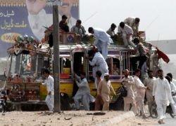 В Пакистане напали на спортсменов из Шри–Ланки