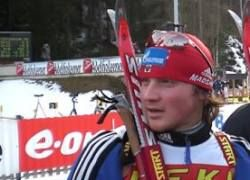 Российский биатлонист стал чемпионом Европы