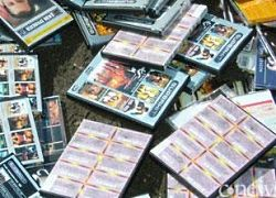 У видеопиратов в Москве изъят миллион контрафактных дисков