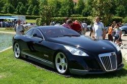 Компания Maybach представила супер-купе Exelero