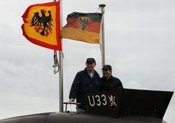 Германский фрегат впервые с 1945 года вступил в бой