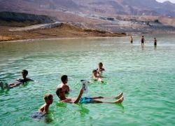 Мертвое море исчезает