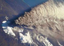 На Камчатке вулкан выбросил столб пепла высотой 4,7 км