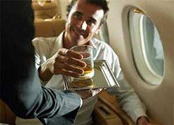 Как не пить в самолете, если боишься летать?