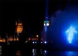 Гигантский призрак над Темзой