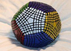 Сложнейший в мире кубик Рубика