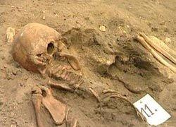 Итальянские ученые нашли скелет вампира