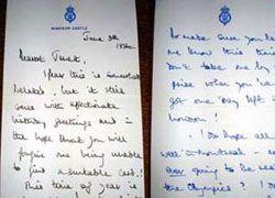 Любовные письма принца Чарльза выставили на аукцион