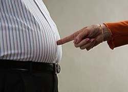 Избыточный вес возникает из-за скверного характера