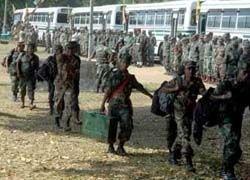 """На Шри-Ланке уничтожили более 100 \""""тамильских тигров\"""""""