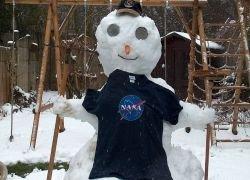 В NASA создали снежную карту Земли
