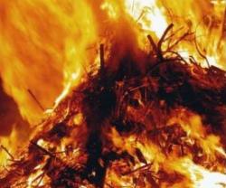 Взрыв на складе боеприпасов в Южной Осетии