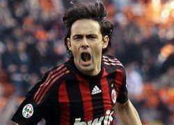 Хет-трик Индзаги приносит Милану победу