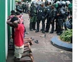 Армия Мадагаскара подняла мятеж