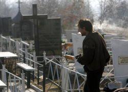 В Житомире нарушители ПДД отрабатывают на кладбище