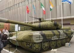 Российская армия вооружается надувными танками