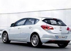 Появилось первое фото Opel Astra 2010 года