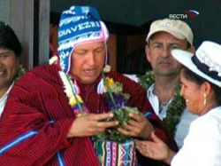 Уго Чавес снесет памятник Христофору Колумбу