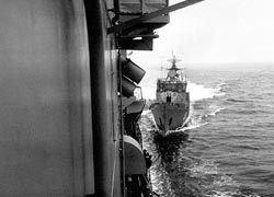 Американские корабли пошли на Корею