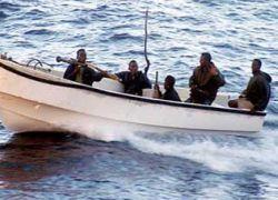 Греческий фрегат арестовал семерых сомалийских пиратов