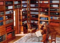 Секреты стильной домашней библиотеки