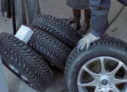 В России летом запретят шипованную резину