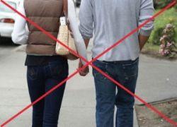 В Дубаи запретили держаться за руки