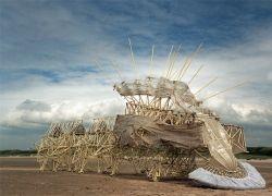 Кинетические скульптуры Тео Янсена