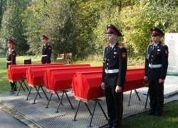 Военное кладбище в России создадут к апрелю 2010 года