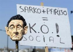 Забастовка против кризиса во Франции