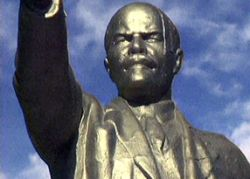 В Петербурге взорвали памятник Ленину