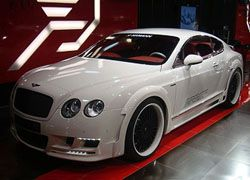 Представлена новая версия Bentley GT