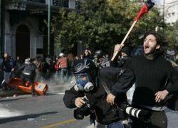 Всеобщая забастовка проходит в Греции