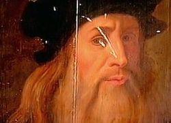 В Риме показали неизвестный портрет Леонардо да Винчи