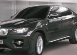 Внедорожник BMW X6 впервые угнали в Москве