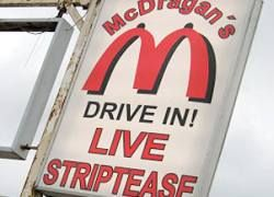McDonald\'s засудит шведский стрип-клуб за плагиат