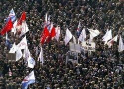 Оппозиция Грузии проведет бессрочную акцию протеста