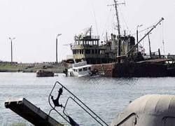 Грузия продала с аукциона потопленные Россией корабли