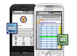 Android-фоны смогут работать с MS Word и Excel