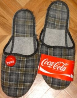 Домашние тапочки за 20 литров Кока-Колы