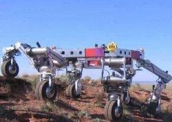 Японцы отправят на Луну шагающего робота