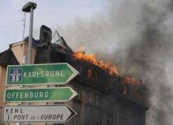 Демонстранты выжгли целый квартал Страсбурга